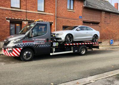 Dépannage & Remorquage d'une Audi